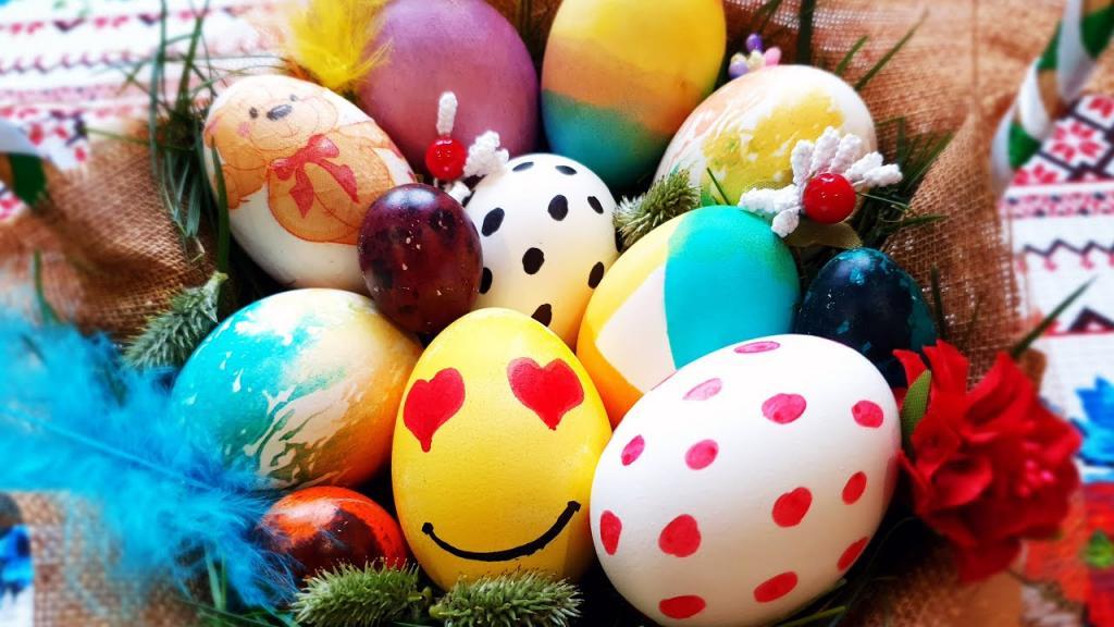 مدل تزیین تخم مرغ برای عید ساده