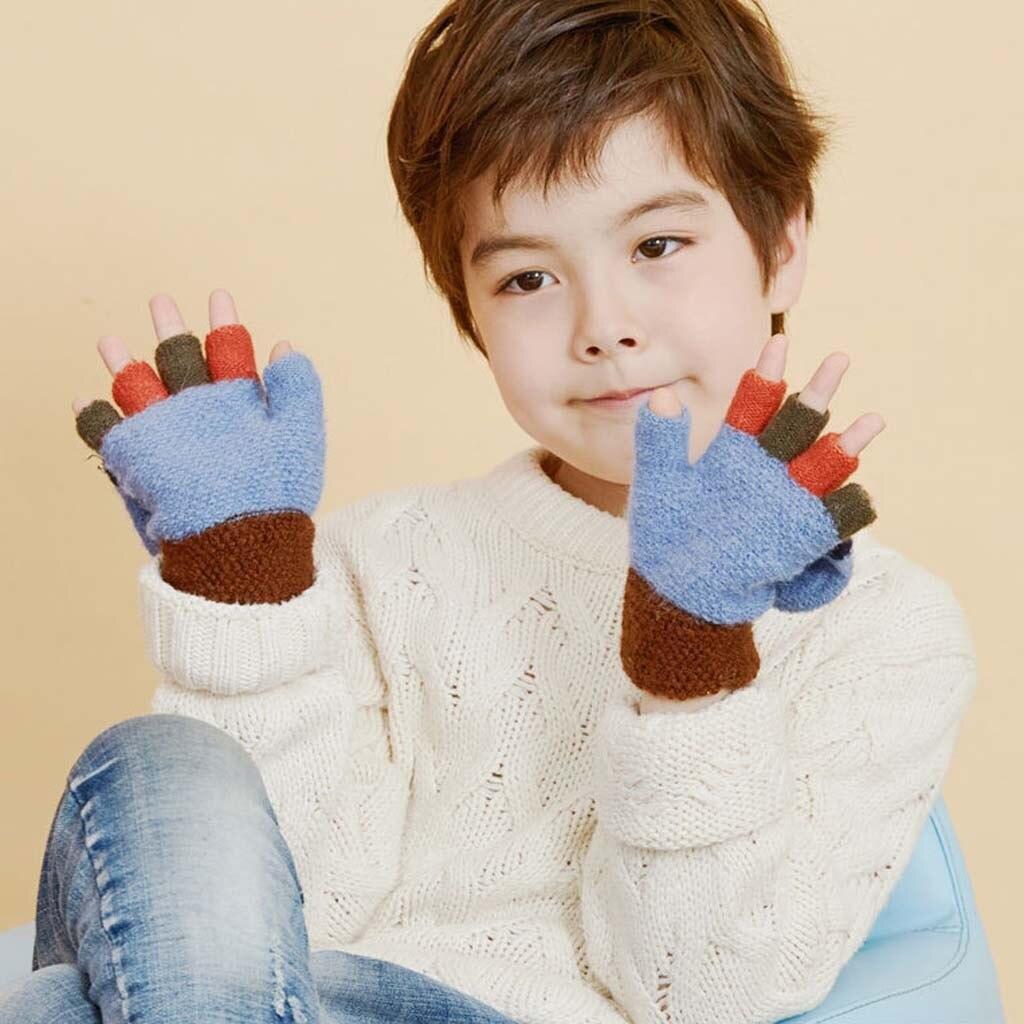 مدل دستکش بافتنی پسرانه