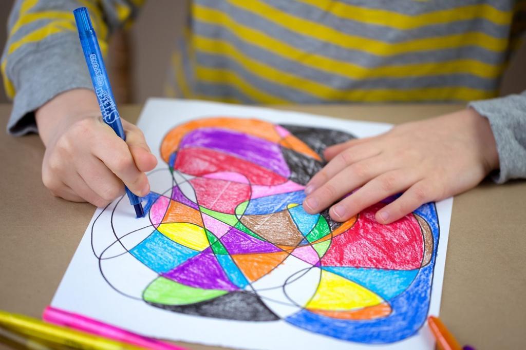 توصیه متخصصین برای رشد خلاقیت در کودکان