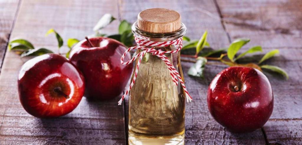 درمان جوش سرسیاه با سرکه سیب و نعناع