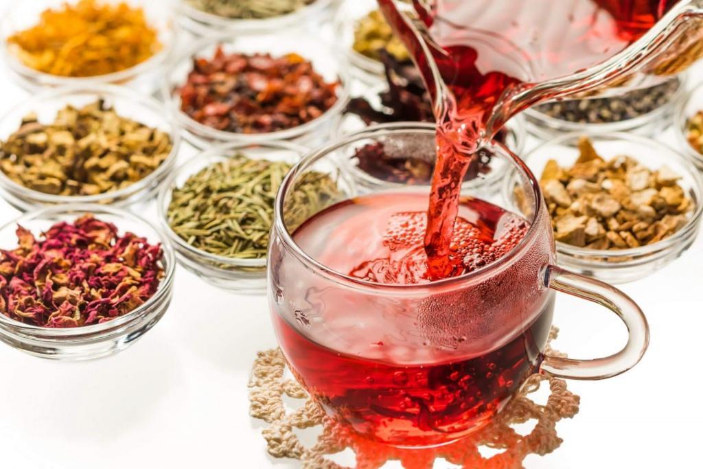 طرز تهیه چای گیاهی و دمنوش برای تیروئید پرکار