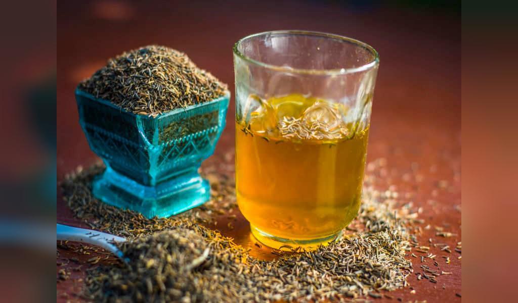 چای زیره سبز