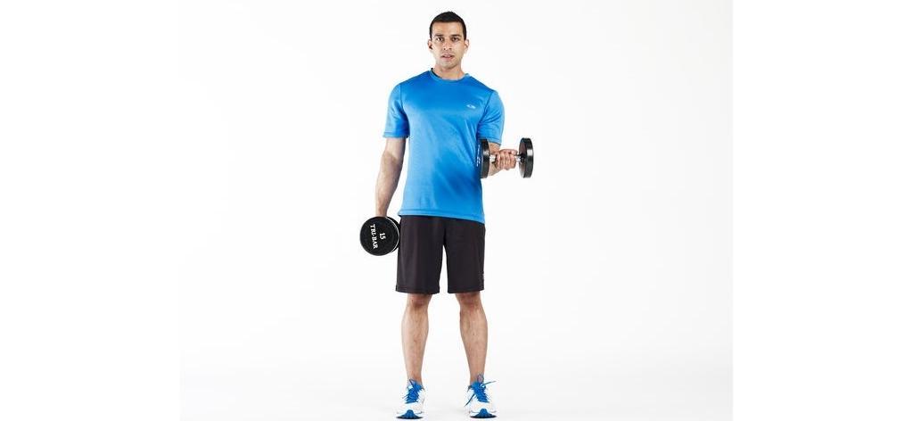 جلو بازو تمرینی برای تقویت استخوانها