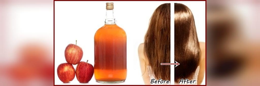 سرکه سیب برای نرم شدن مو