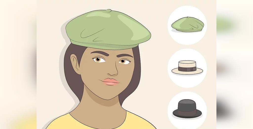 انتخاب کلاه برای صورت قلبی شکل