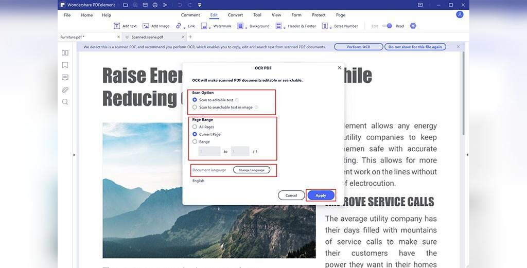 تبدیل PDF اسکن شده به PPT