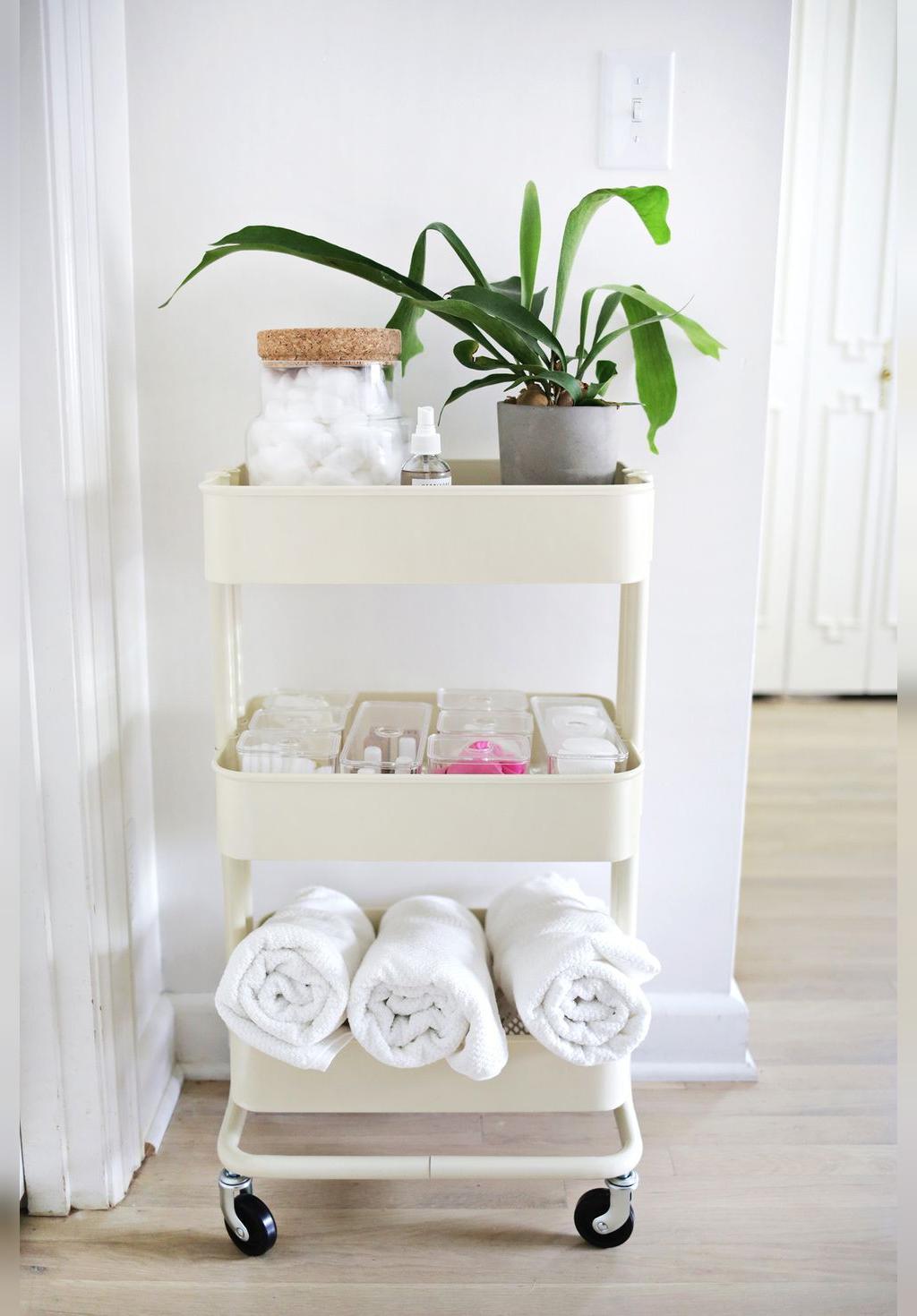 شیوه های استفاده از فضای کوچک حمام