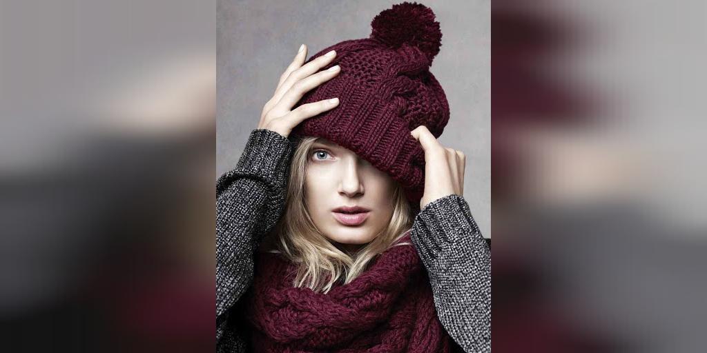 مدل شال و کلاه بافتنی فانتزی زنانه