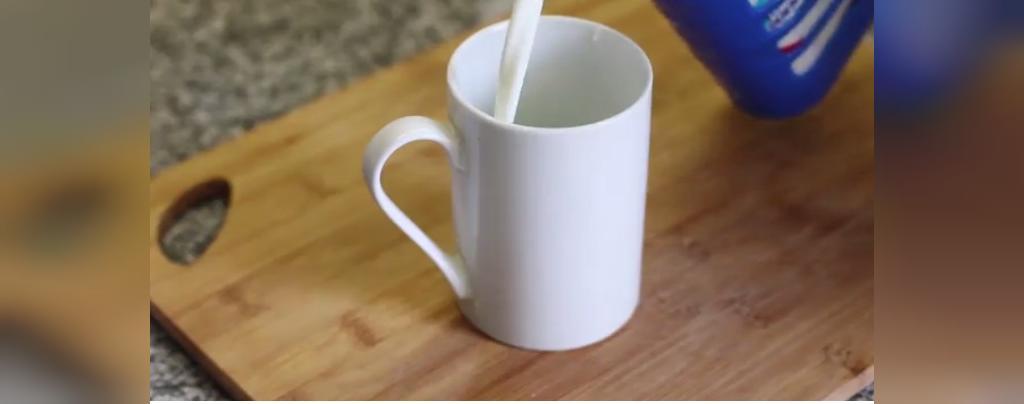 شرایط مناسب شیر در مایکروویو
