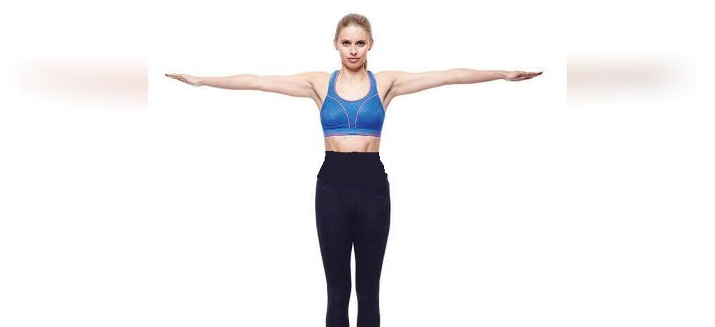 حرکات ورزشی ساده برای افتادگی سینه