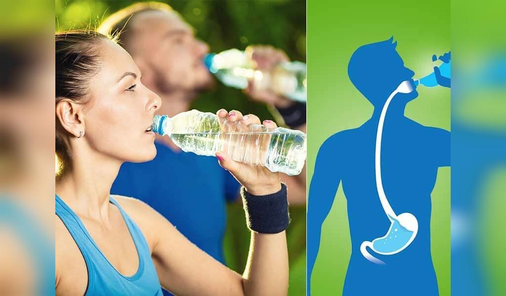 علائم کمبود آب در بزرگسالان