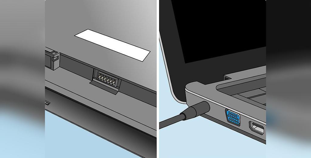 برای حل مشکل لپ تاپی که شارژ نمیشود، لپ تاپ خود را بدون باتری روشن کنید