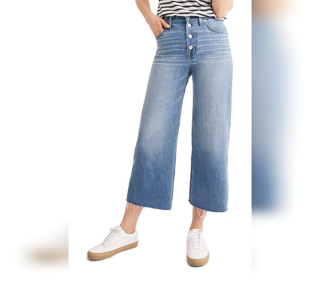 شلوار جین های دم پا گشاد