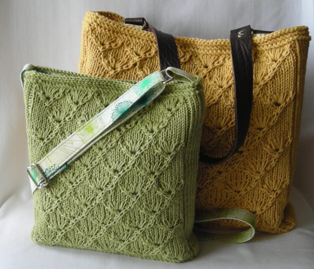 الگوی کیف بافتنی زنانه