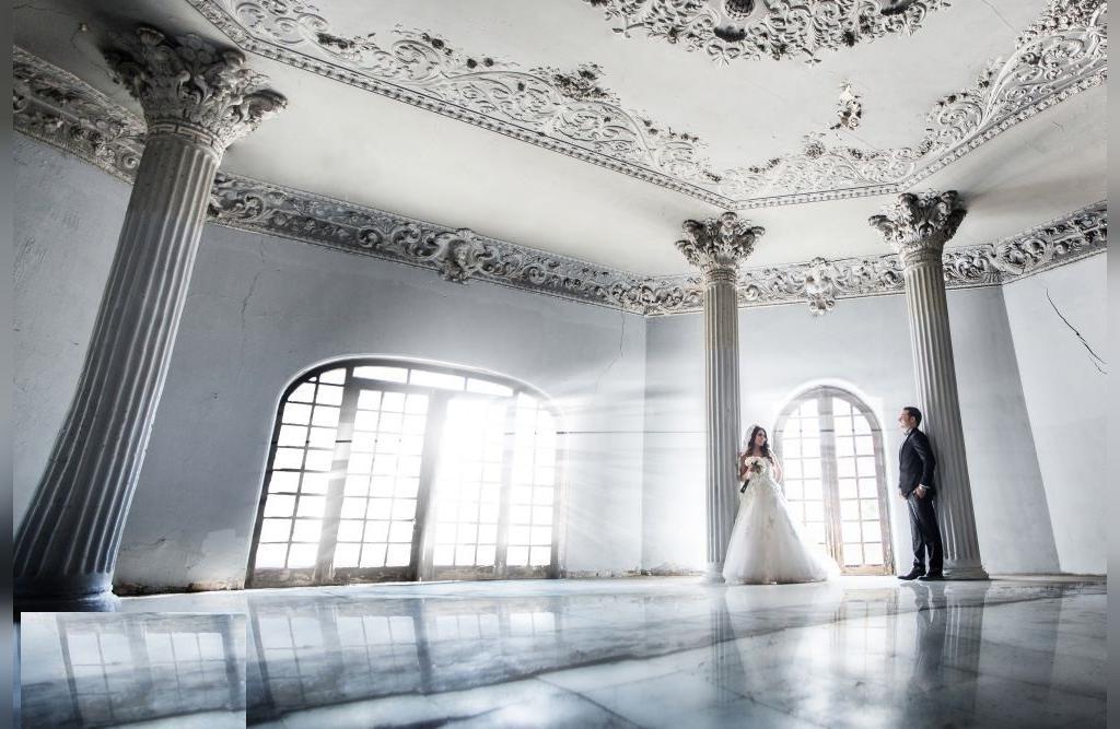 مدل لاکچری عروس و داماد در تالار