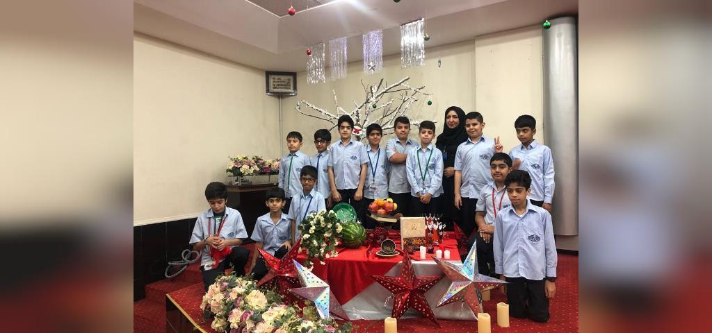 تزیینات شب یلدا برای مدرسه