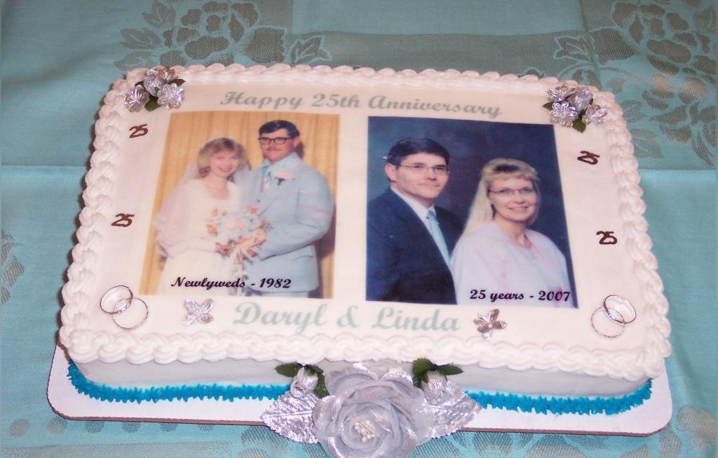 کیک سالگرد ازدواج قدیمی