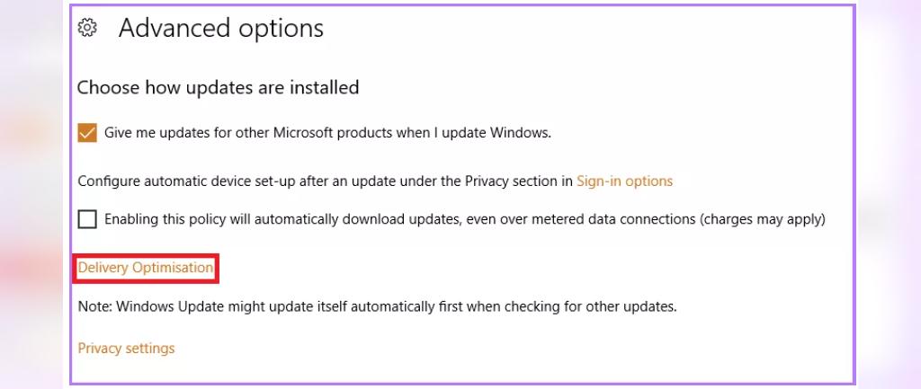 برای حل مشکل پینگ در ویندوز 10 به روزرسانی خودکار ویندوز را غیرفعال کنید
