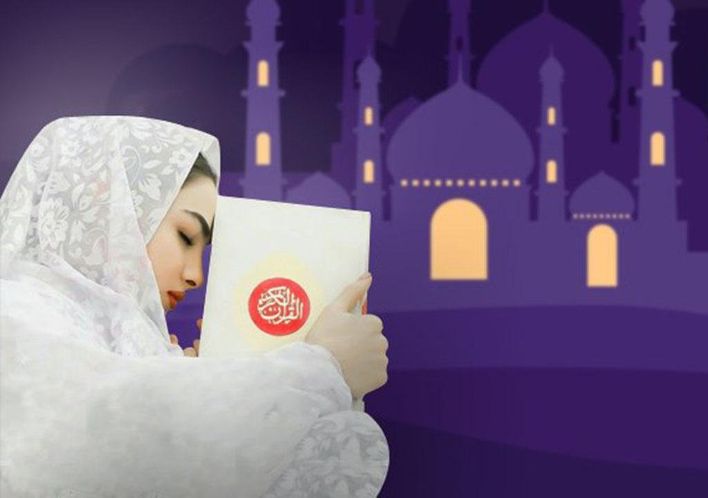 عکس پروفایل دختر برای ماه رمضان