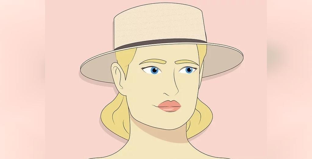 انتخاب کلاه برای صورت های مثلثی شکل