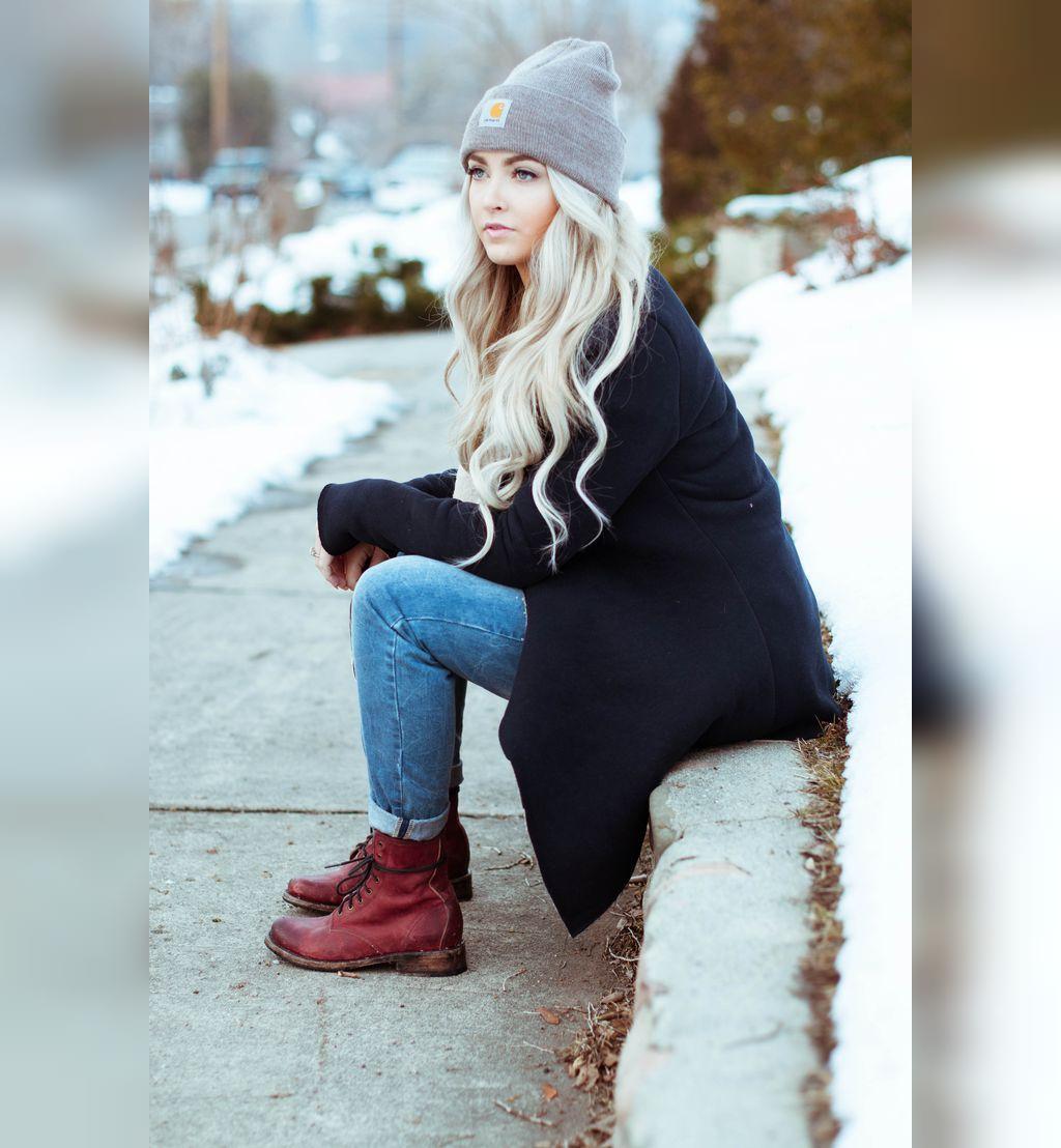 پروفایل زمستانی دخترانه لاکچری