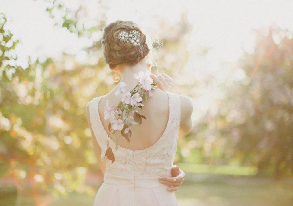 عکس پروفایل بهاری عروس