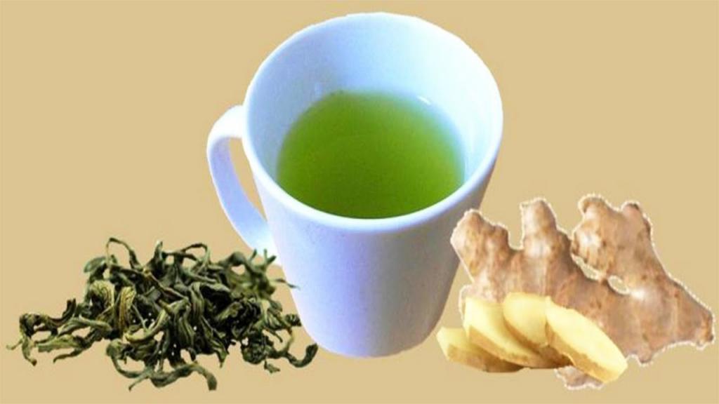 خواص دمنوش چای سبز و زنجبیل