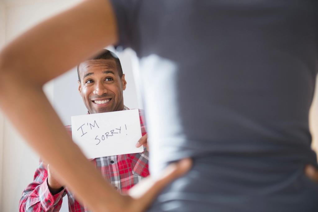 روش صحیح عذرخواهی همسر