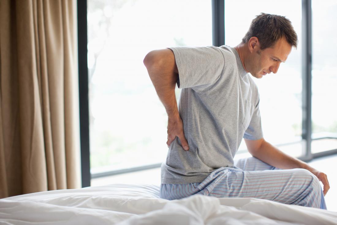 درد کمر و لگن از علایم سرطان پروستات است