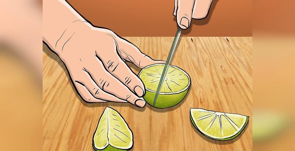 تمیز کردن ظروف مسی با لیمو