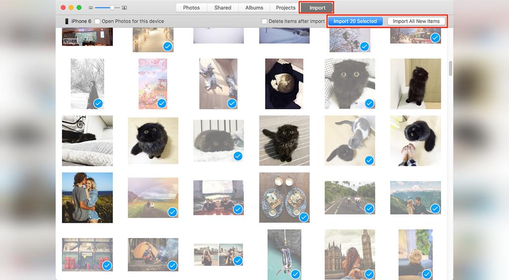 چگونه تصاویر را از گوشی آیفون به سیستم مک انتقال دهید