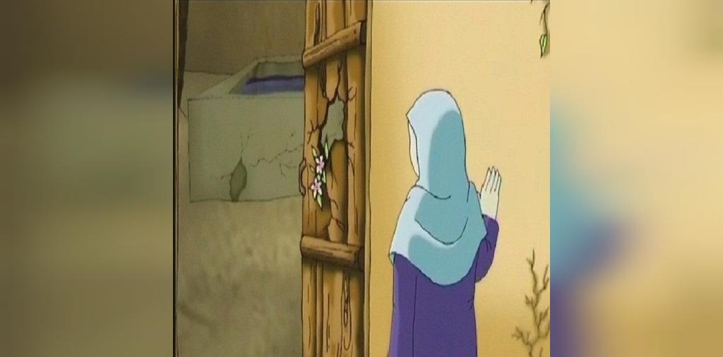 نقاشی شهادت حضرت فاطمه سلام الله علیها