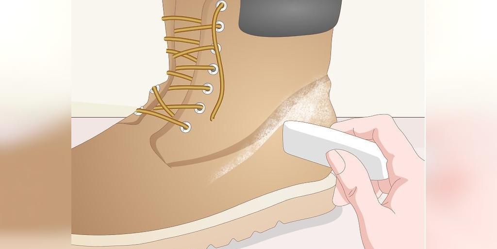 چطور چکمه های نبوک  را تمیز کنیم