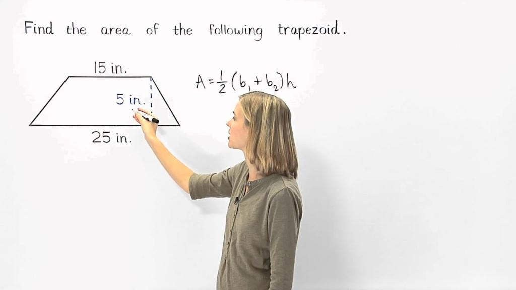 فرمول های مساحت اشکال هندسی مختلف