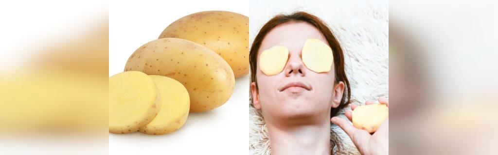 درمان جای جوش با سیب زمینی