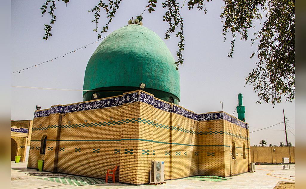 محل دفن حضرت ایوب (ع)