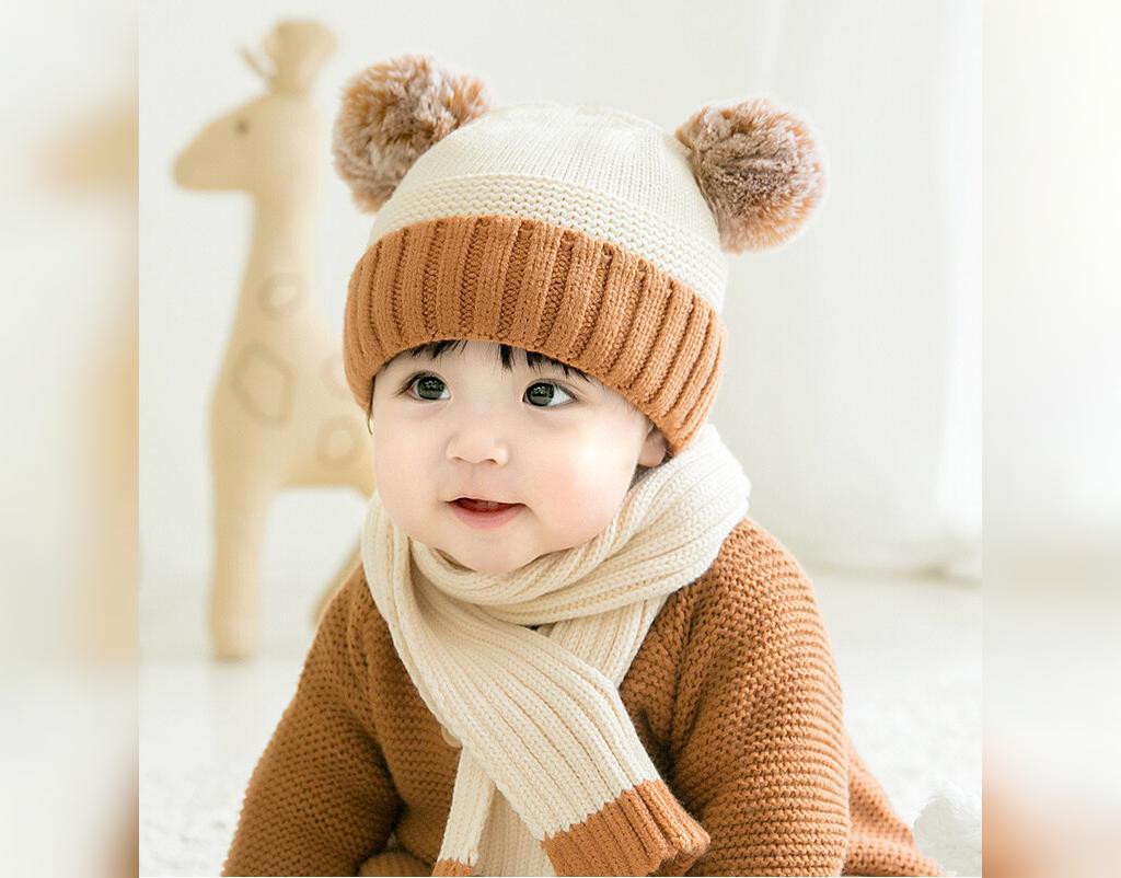 عکس مدل کلاه بافتنی دختر بچه جدید