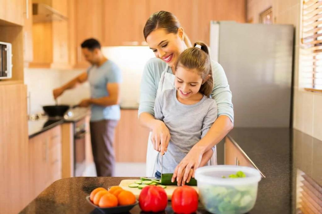 راز داشتن زندگی شاد و سالم با خانواده