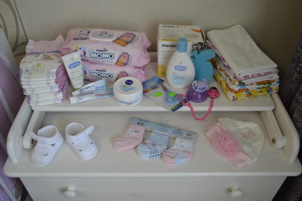لوازم بهداشتی مورد نیاز برای سیسمونی نوزاد