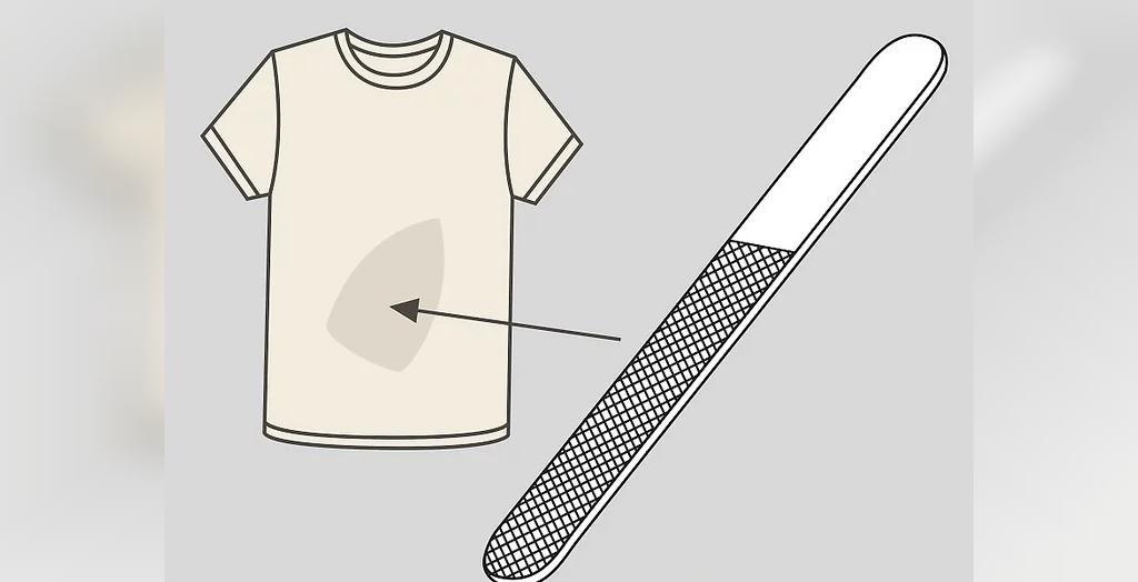 برای لکه های سوختگی بد، سعی کنید تا با یک پد سمباده پارچه را سایش دهید