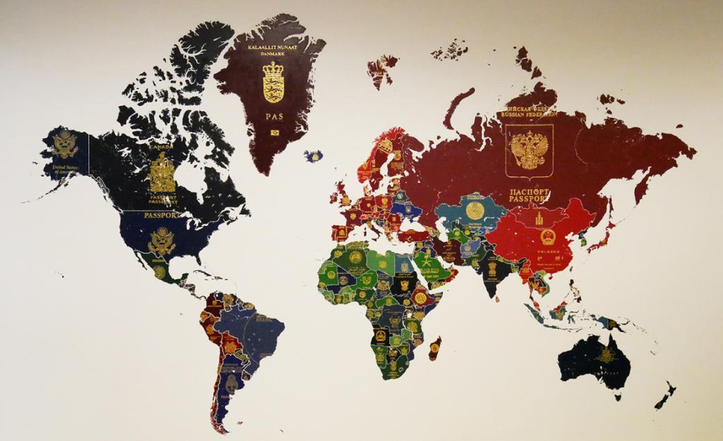اعتبار پاسپورت انگلستان و آمریکا در طول چند سال اخیر