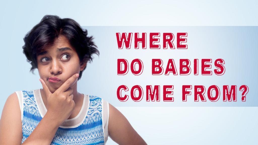 چطور به بچه ها بگوییم که نوزاد از کجا می آید