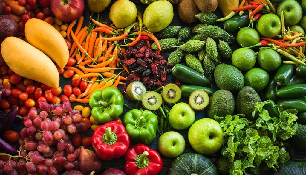 تاثیر میوه ها و سبزیجات در جوان ماندن