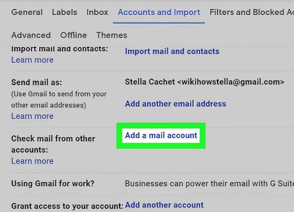 روش افزودن حساب ایمیل یاهو در جیمیل