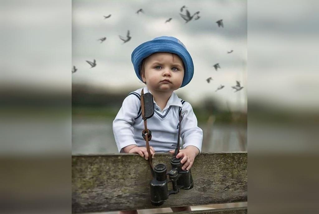 ژست خاص عکاسی کودکان