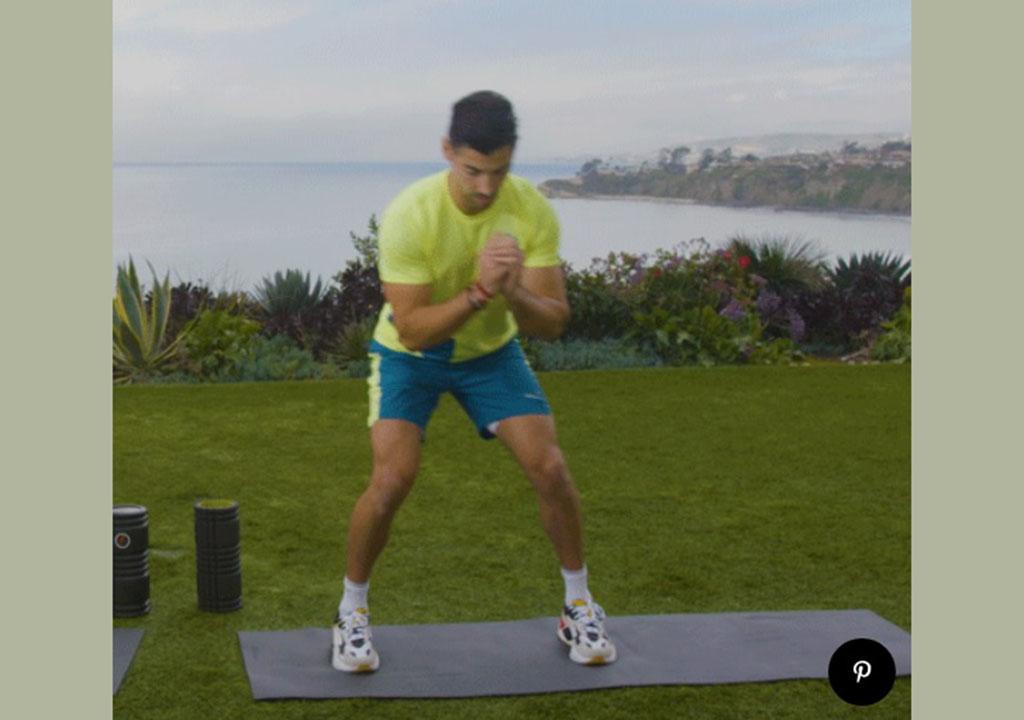 ورزش تصویری برای تقویت زانو
