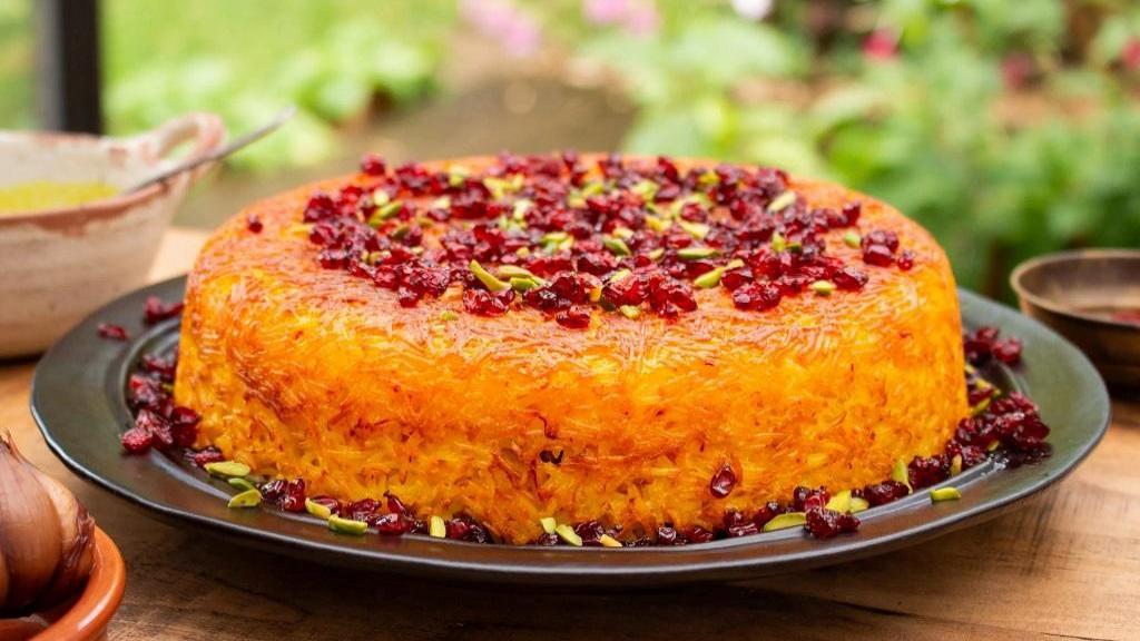 طرز تهیه ته چین گوشت خوشمزه و مجلسی به سبک رستورانی