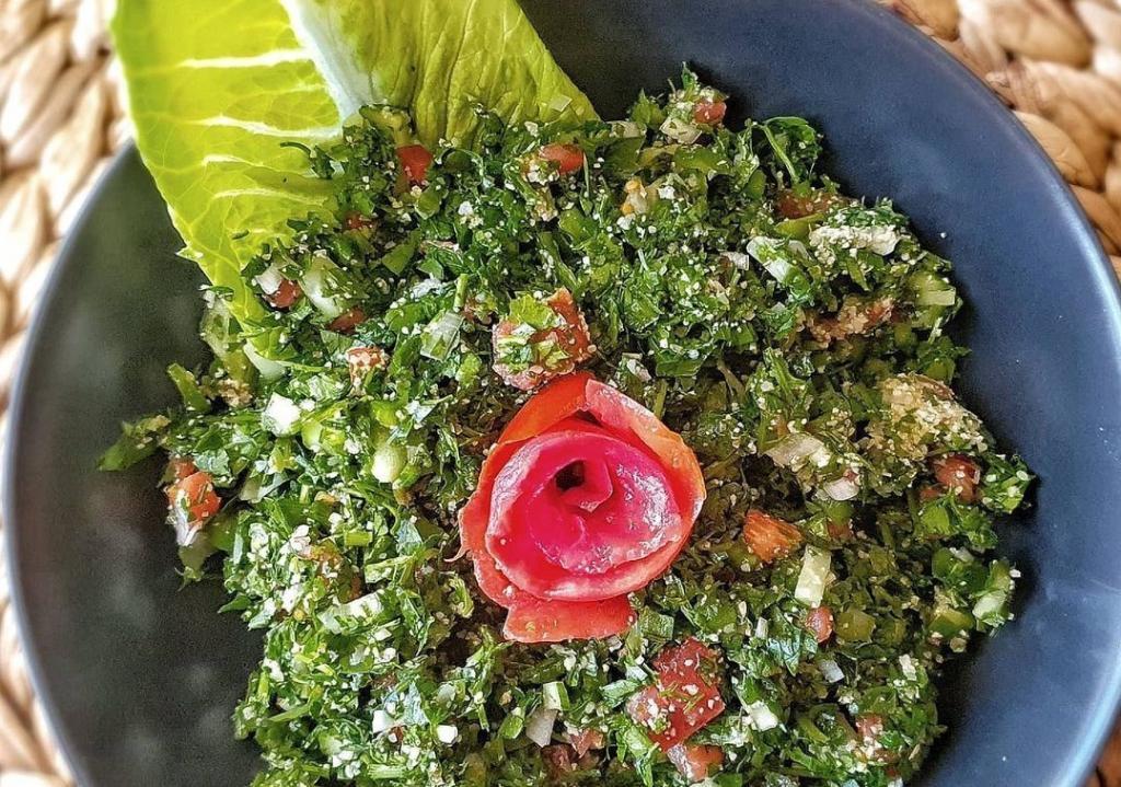 طرز تهیه سالاد تبوله خوشمزه و مجلسی اصل لبنانی