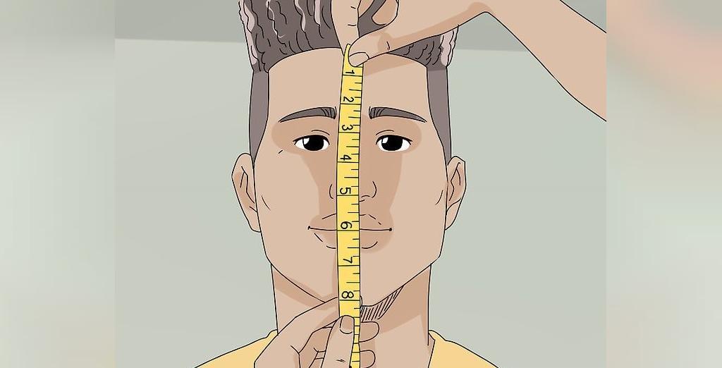 اندازه گیری صورت برای انتخاب عینک دودی