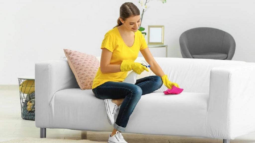 تمیز کردن مبل با جوش شیرین + پاک کردن لکه مبل چرمی، پارچه ای